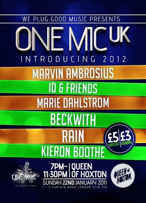 One Mic: Introducing 2012