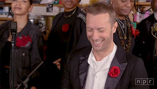 Coldplay – NPR Music Tiny Desk Concert (Video)