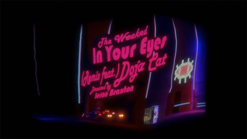 The Weeknd – In Your Eyes Remix feat. Doja Cat (Video)