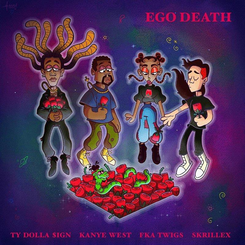 Ty Dolla $ign – Ego Death (feat. Kanye West, FKA twigs & Skrillex)